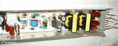ЭПРА к светильнику Армстронг 4х18Вт. Два транзистора 13007
