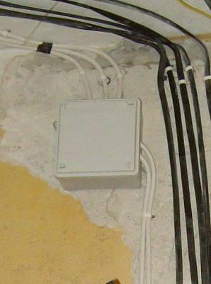 Коробка сплиттера антенны