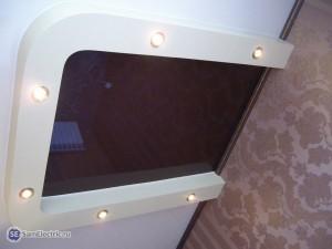 Потолок с точечными светильниками 2