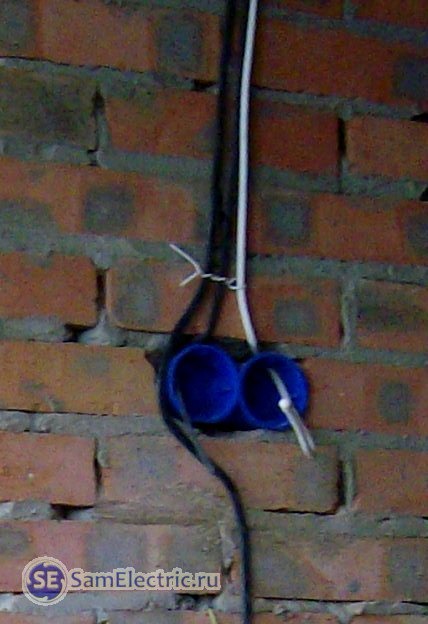 Прокладка антенного ТВ кабеля