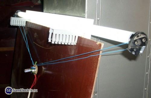 Вариант использования электронного балласта от Компактной Люминесцентной лампы