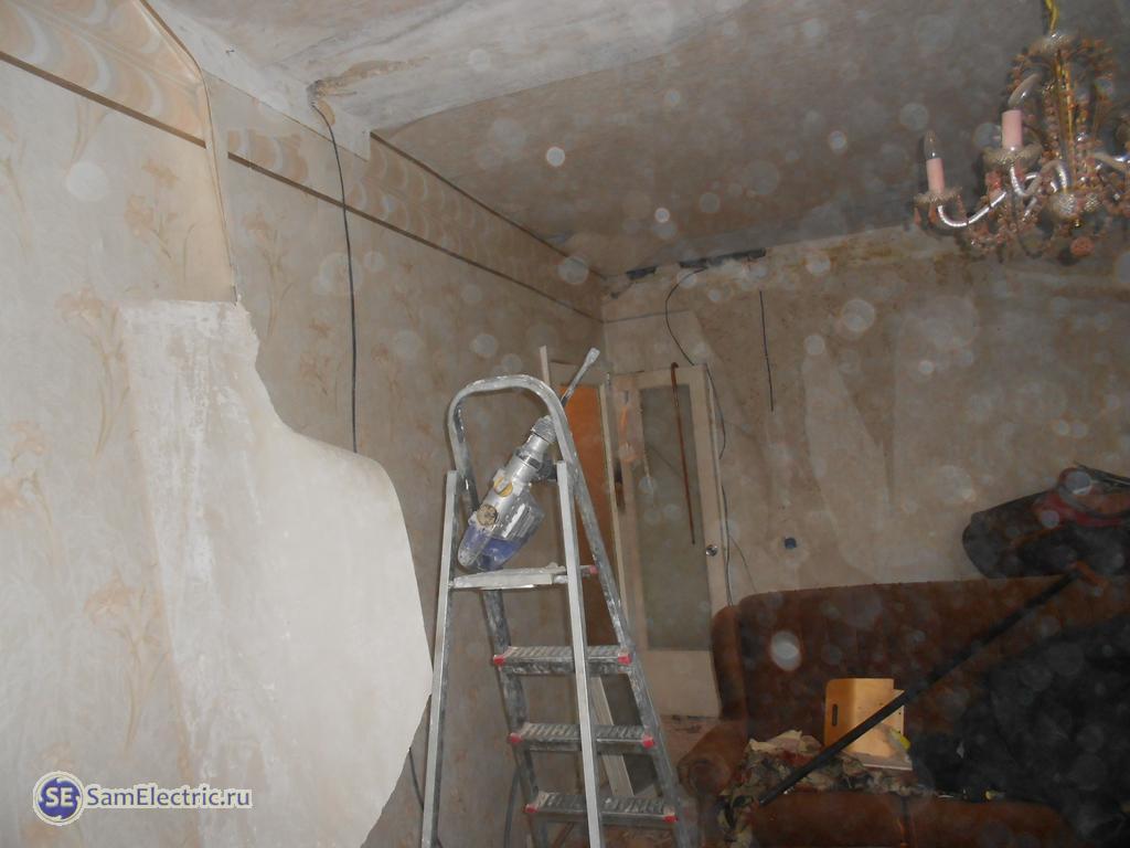 Как заменить старую электропроводку в квартире