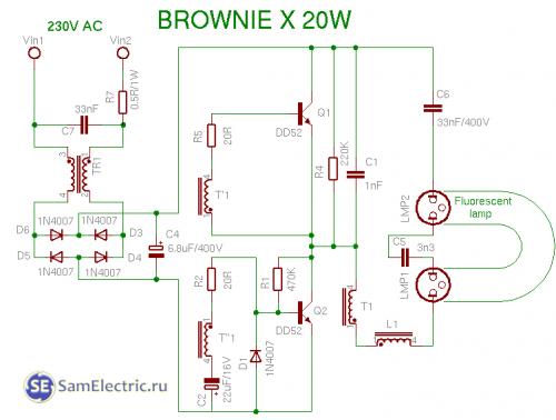 browniex 20w