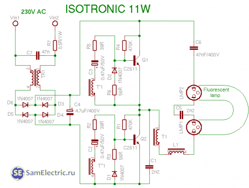 isotronic 11w
