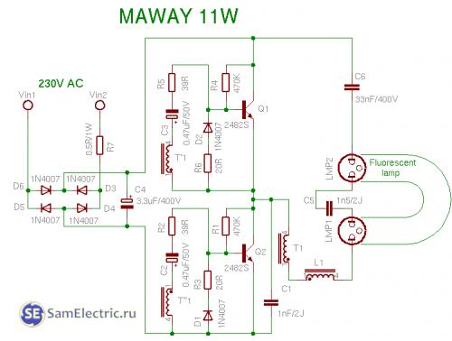 maway 11w